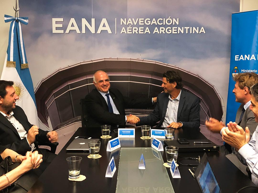 INVAP y EANA Firma de contrato