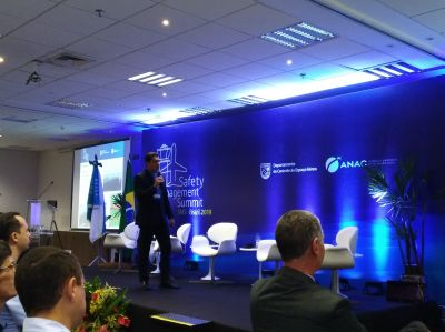 Exposición durante el Safety Management Summit – SMS Brazil 2019